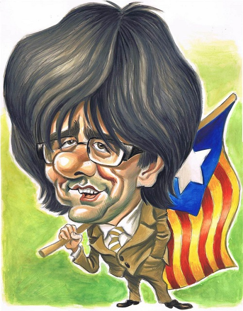 » MY NAME IS PUIGDEMONT «
