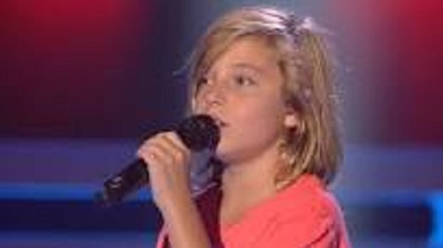 """ LA VOZ KIDS "", O "" LA VOZ BLIND IN ONE EYE """