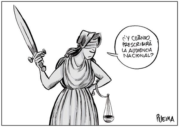 HASTA LA JUSTICIA PROTESTA