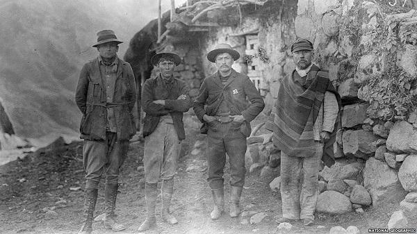 24 DE JULIO DE 1911 DESCUBRIMIENTO DE MACHU PICCHU