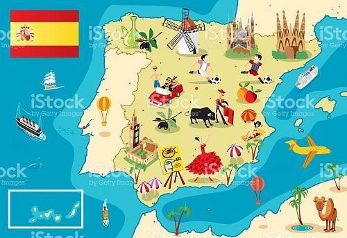 ¿ DE QUIEN ES ESPAÑA ?