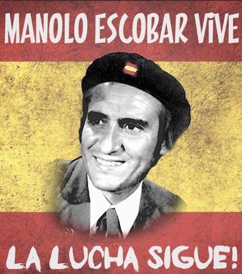 MANOLO ESCOBAR, LLACH Y LOS CERDOS