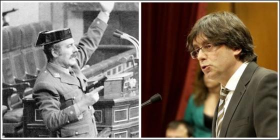 La demoledora carta del hijo cura de Tejero contra los golpistas catalanes