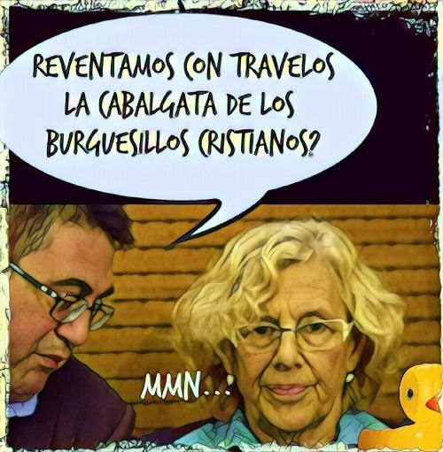 ¡¡¡ SEÑORES, RESPETEN LA CABALGATA DE LOS REYES MAGOS, POR FAVOR !!!