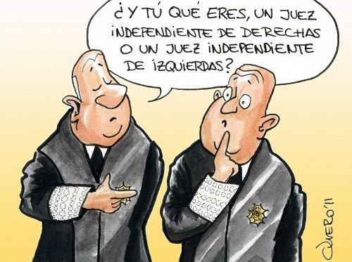 JUECES MOLESTOS ¡ DESPÍDANSE !