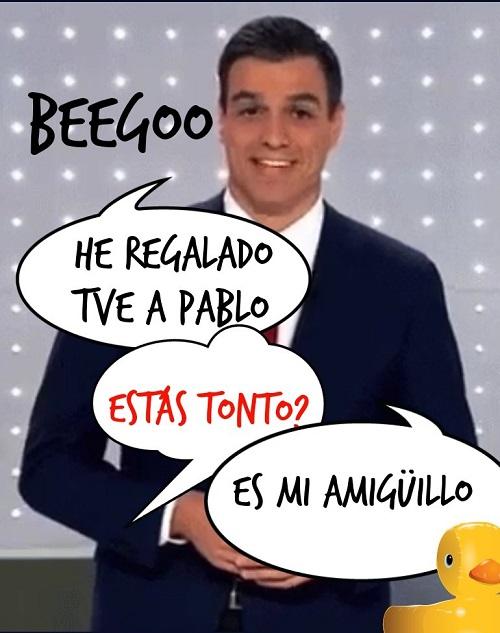 TVE: EL JUEGUECITO DE PEDRO Y PABLO