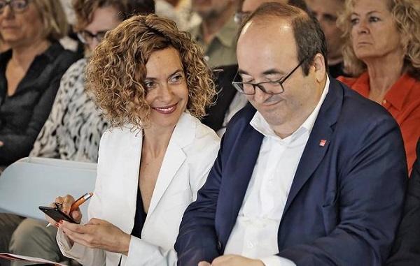 Bipartidismo PSC-PSOE