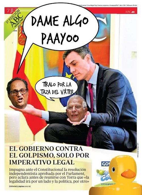 SÁNCHEZ BAJO EL BARRO