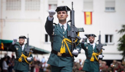 LOS JUECES Y LA GUARDIA CIVIL