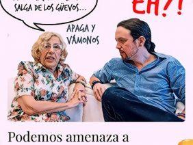 CARMENA / IGLESIAS: LUCHA EN EL BARRO