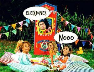 DE ELECCIONES, NADA