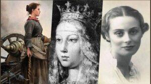 ECDE EL 8-M HOMENAJE A LA MUJER ESPAÑOLA: ISABEL LA CATÓLICA, AGUSTINA DE ARAGÓN Y MERCEDES FORNICA