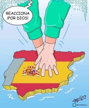 LA AGONÍA DE ESPAÑA